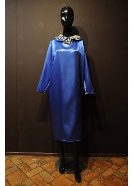 Платье для похорон Синее
