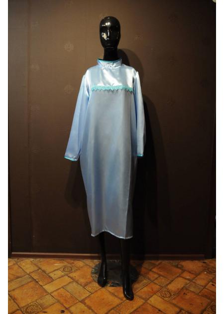 Платье для похорон Голубое